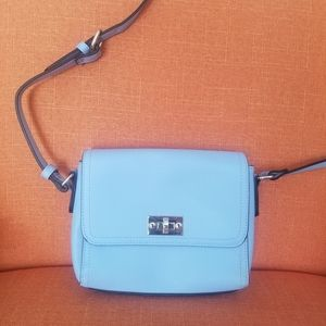 Ight blue small, structured cross body bag
